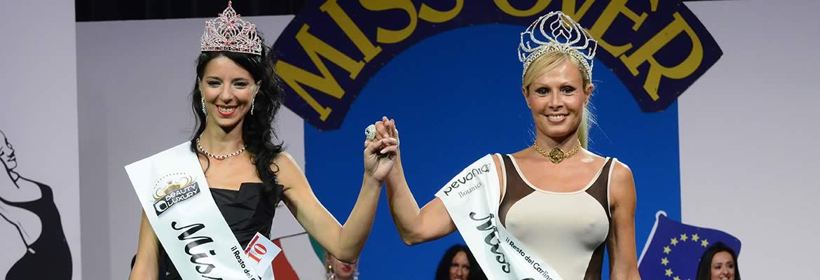Irene Tellini, Miss Over Baby 2013 - Cristina Cattoni, Miss Over 2012