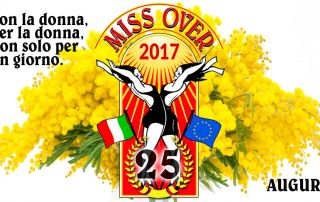 Miss Over 2017 - Auguri 8 marzo