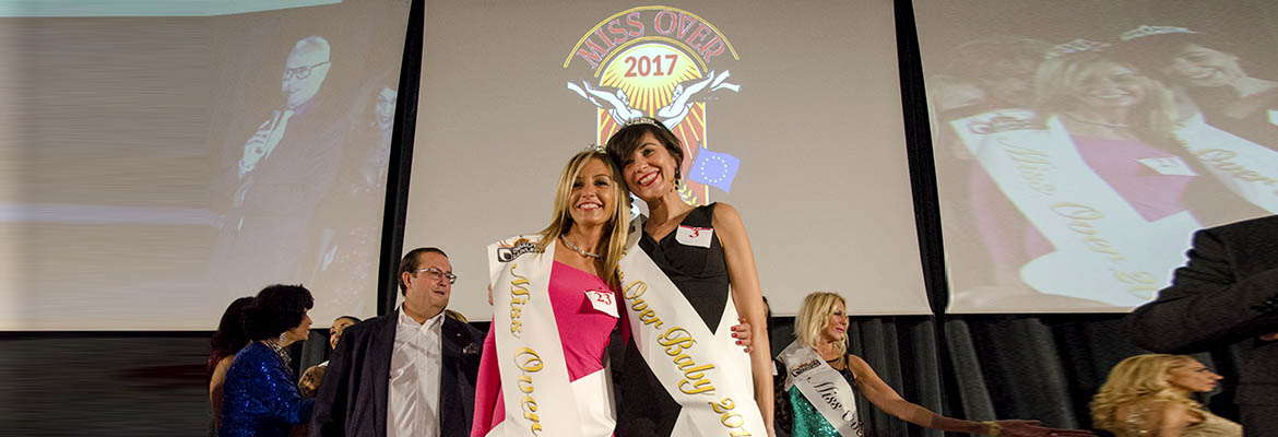 Cristina Pagani Miss Over 2017 - erika Brancolini Miss Over Baby 2017